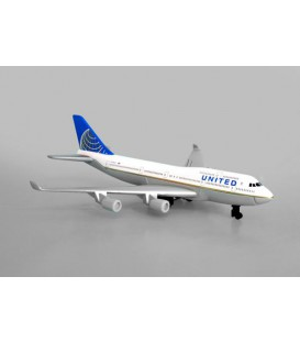 United Airlines Boeing 747 Single Plane