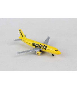Spirit Airlines A320 Single Plane