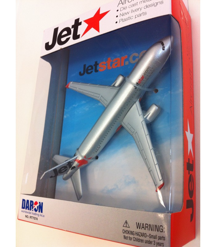 Jetstar A320 Single Plane Aircraft Models Online New