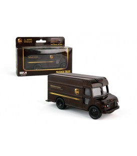 UPS package Truck pullback
