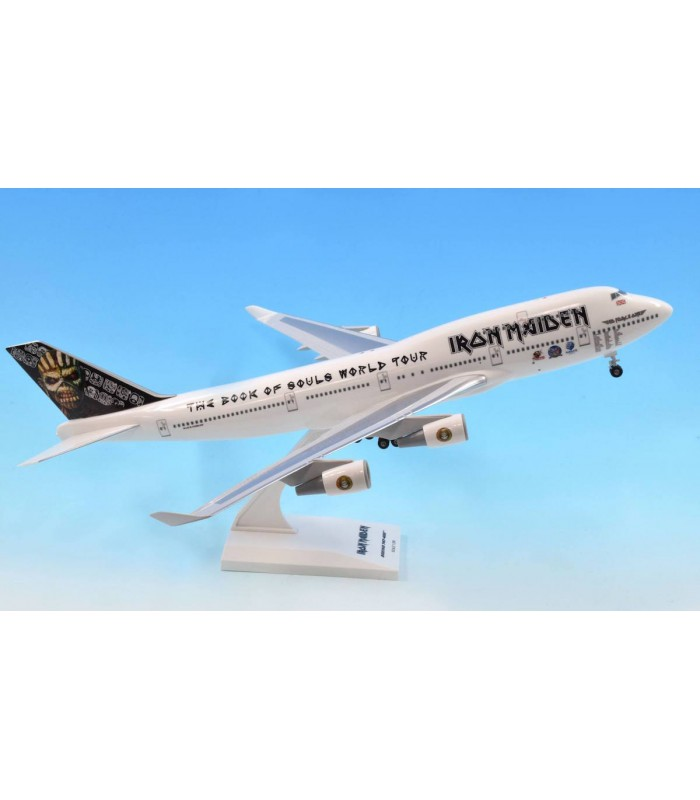 iron maiden boeing 747 400 1 200 aircraft models online new zealand 39 s finest aircraft model. Black Bedroom Furniture Sets. Home Design Ideas