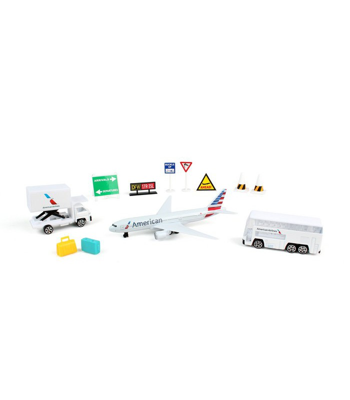 American Airlines Airport Playset Aircraft Models Online