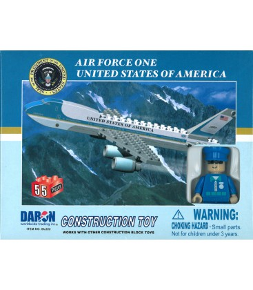 Air Force One 55pc Construction Toy