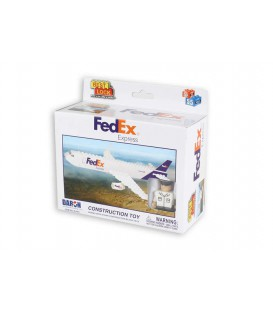 FedEx Express 55pc Construction Toy