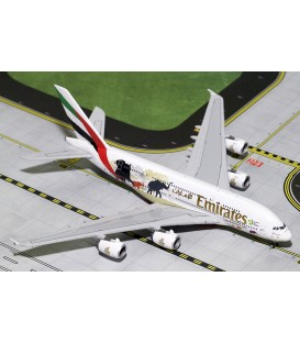 Emirates Airbus A380-800 Wildlife2 1:400