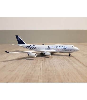 China Airlines Boeing 747-400 Skyteam Diecast 1:400