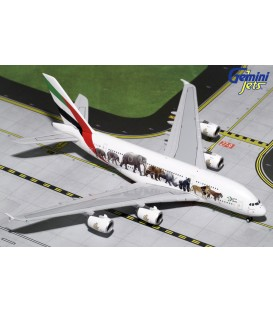 Emirates Airbus A380-800 United for Wildlife3 1:400