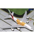 Emirates Airbus A380-800 Orange EXPO 2020 1:400