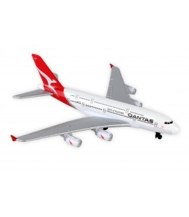 Qantas A380 Single Toy Plane ~ New Livery