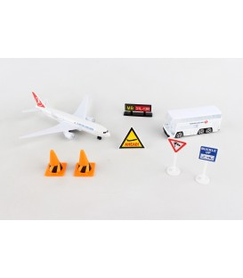 Turkish Airlines 8 pieces Playset