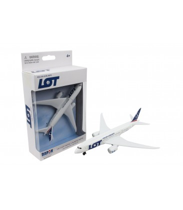 LOT Airlines B787 Single Plane