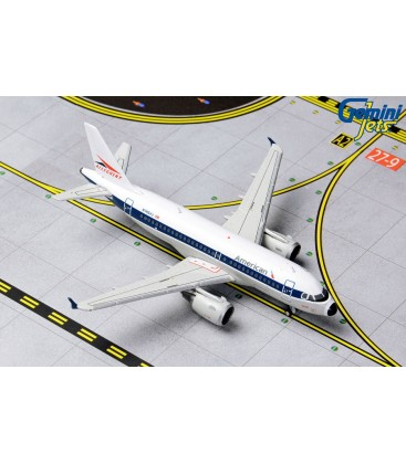 American Airlines A319 Allegheny Retro Livery 1:400