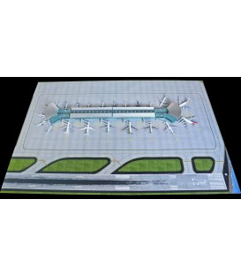4 Pieces Airport Mat Set 1:400