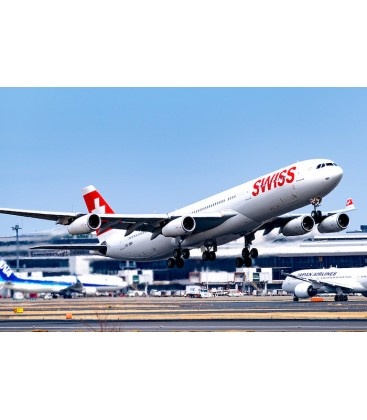 Aviationtag Swiss Airbus A340 HB-JMK