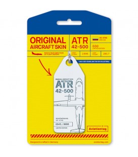 Aviationtag ATR 42-500 HK-4748 White