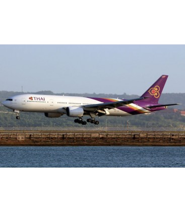 Aviationtag Boeing 777-200 HS-TJF Purple