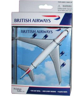 British Airways Boeing 747 Single Plane