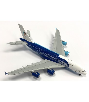 "HiFly Airbus A380-800 ""Save the Coral Reefs"" 1:400"