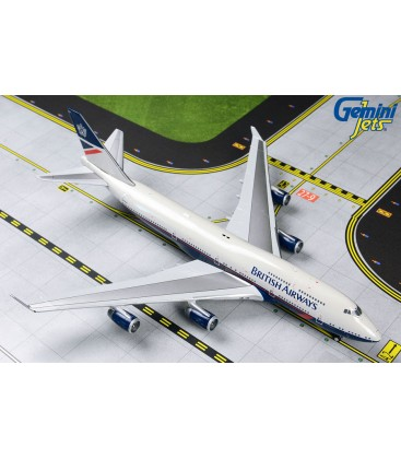 British Airways Boeing 747-400 Landor Retro Livery 1:400