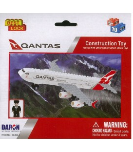 Qantas 70pc Construction Toy