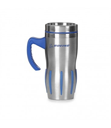 Jet Engine with handle stainless steel tumbler