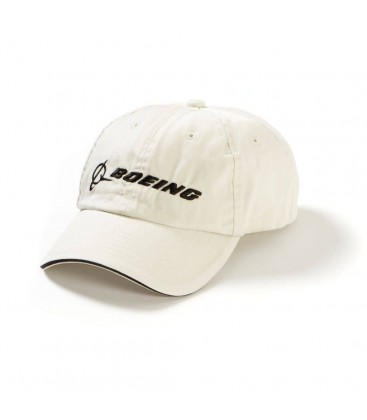 Boeing Chino Bill Hat - Black