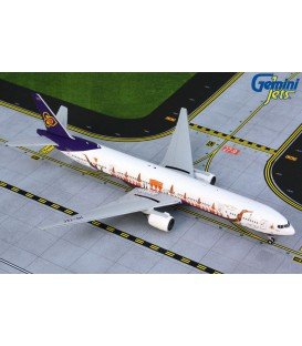 "THAI Airways Boeing 777-300 ""Suphannahong Royal Barge"" 1:400"