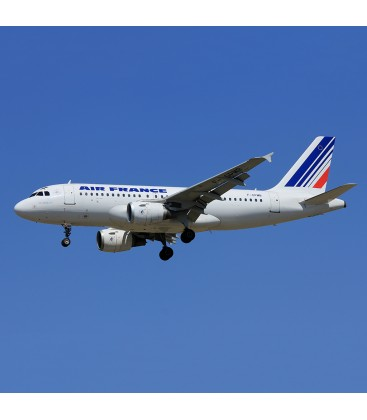 Aviationtag Air France Airbus A319 F-GPMB-Blue and White
