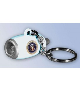 Daron Air Force One Flashlight Engine Key Chain