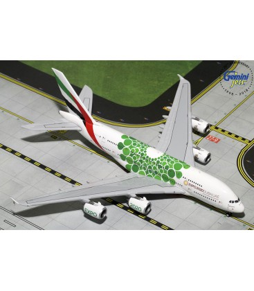 Emirates Airbus A380-800 Green EXPO 2020 1:400