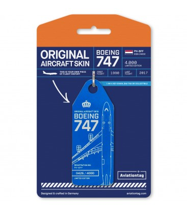 Aviationtag Boeing 747 PH-BFF