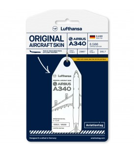 Aviationtag Lufthansa A340-600 D-AIHR