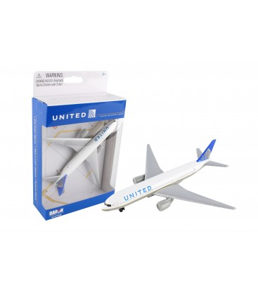 Realtoy United Airlines Boeing 777 Single Plane