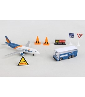 Allegiant Air 7 Pieces Airport Playset