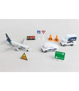 Alaska Airlines Airport Playset