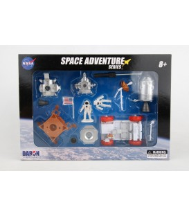 Space Adventure Lunar Rover Playset
