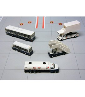Airport Support Vehicles Set 1:200