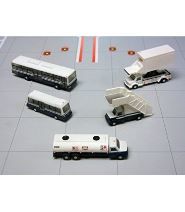 Gemini 200 Airport Support Vehicles Set 1:200
