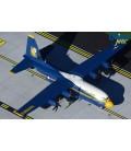 US Marines Blue Angels Lockheed C-130J Hercules 1:200