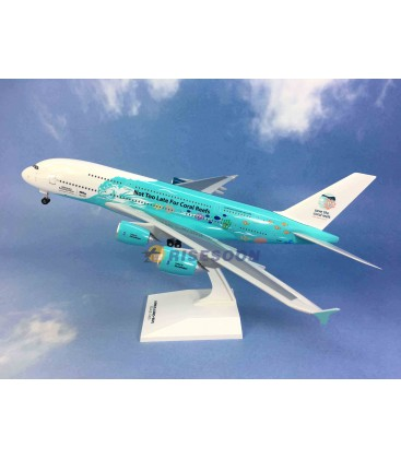 HiFly Airbus A380-800 Save the Coral Reefs 1:200