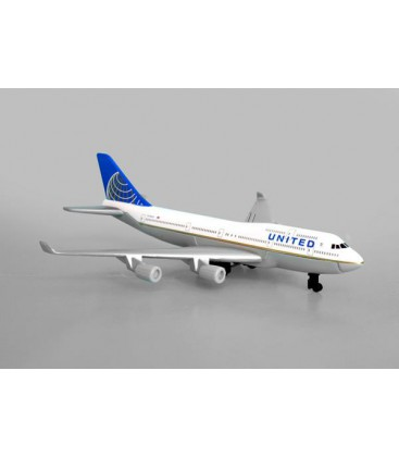Realtoy United Airlines Boeing 747 Single Plane