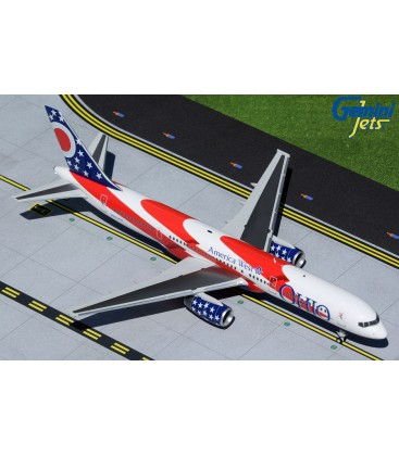 American West Airlines Boeing 757-200 1:200 Ohio