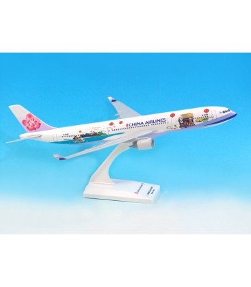 """China Airlines Airbus A330-300 """"Welcome to Taiwan"""" B-18355 1:200"""