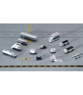 Clearance Sale! 14 Piece Ground Accessories Set 1:400