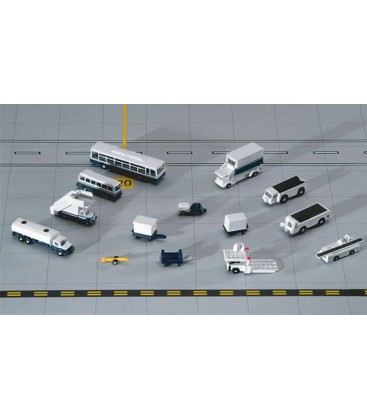 Gemini Jets 14 Piece Ground Accessories Sets 1:400