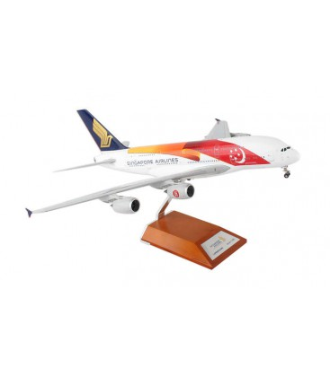 "Singapore Airlines Airbus A380-800 "" 50th Anniversary "" 1:200"