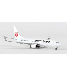 JAL Japan Airlines Boeing 737-800 1:400