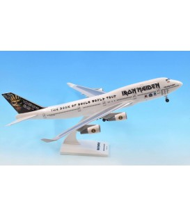 Iron Maiden Boeing 747-400 1:200