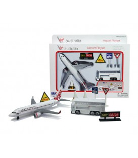 Virgin Australia Airport 7 Pieces Playset