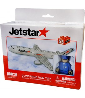 Jetstar 55pc Construction Toy